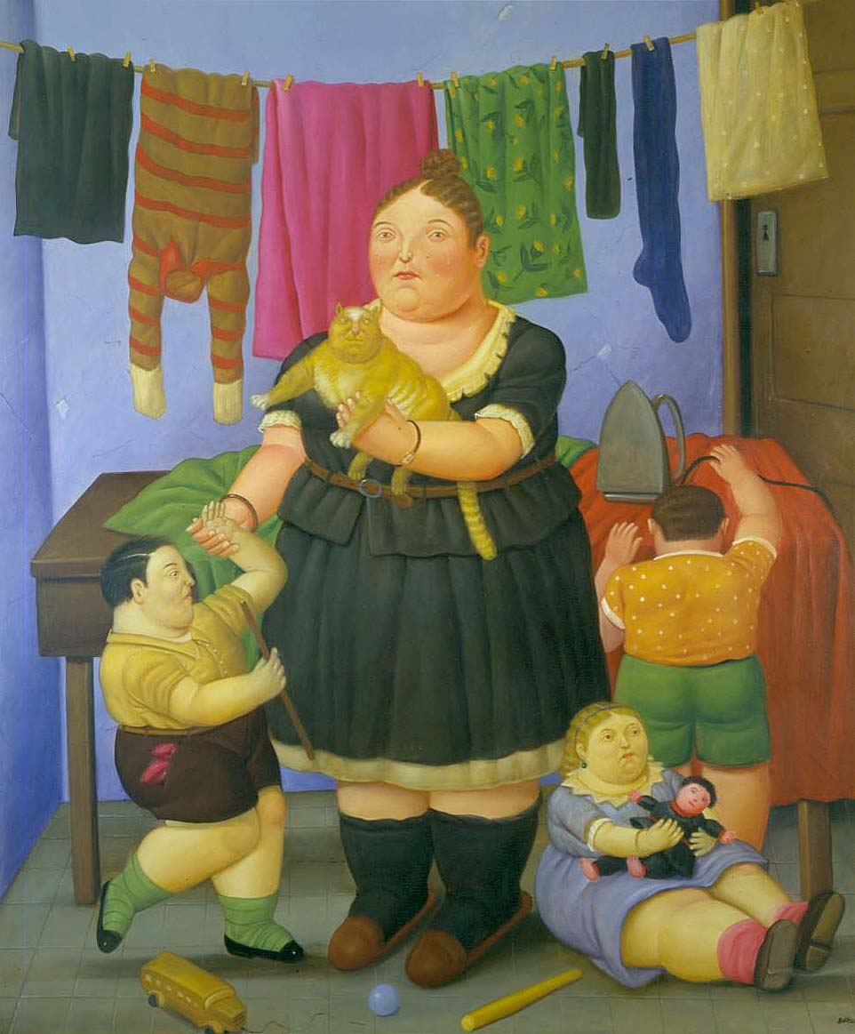 botero-domestic-scene: