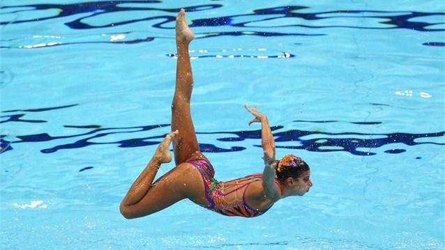 El arte del nado sincronizado