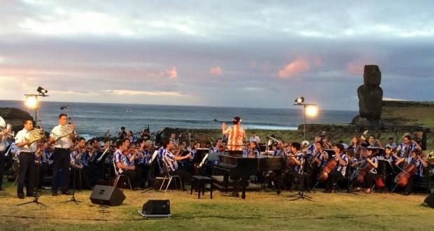 Con inédito concierto se Inaugura la Primera Escuela de Música autosustentable de Latinoamérica en Isla de Pascua