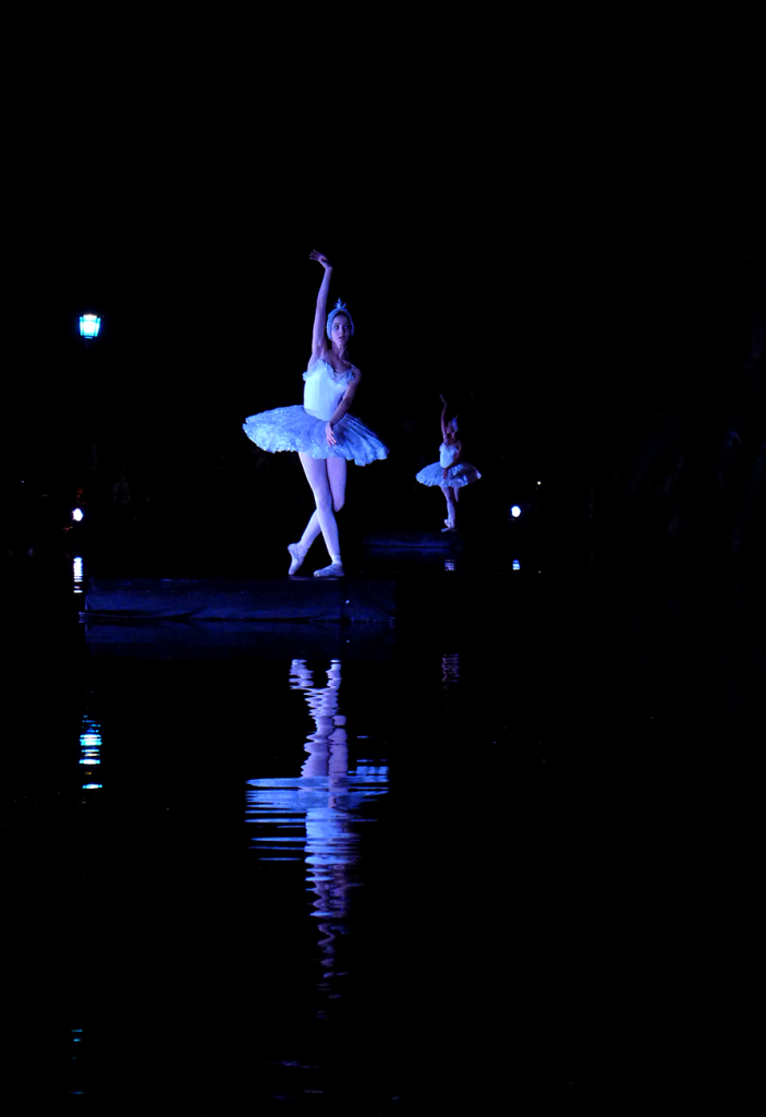 Barcelona bailo con el Lago de los Cisnes y San Petersburgo