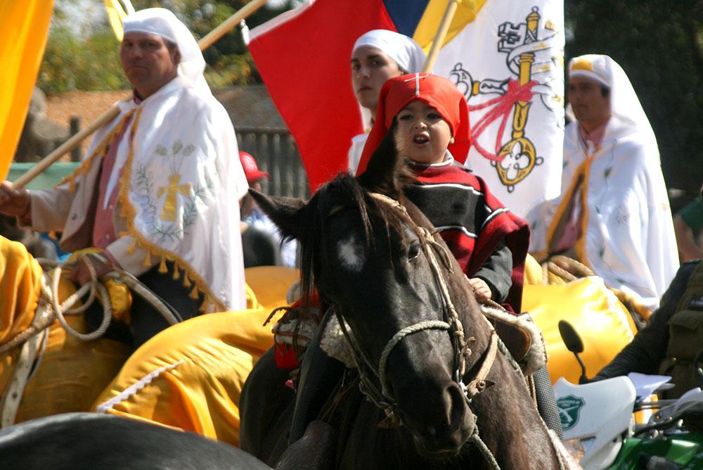 Fiesta de Cuasimodo en Lo Barnechea