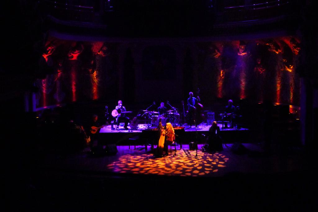 Loreena Mckennitt en el Palau de la Música en Barcelona
