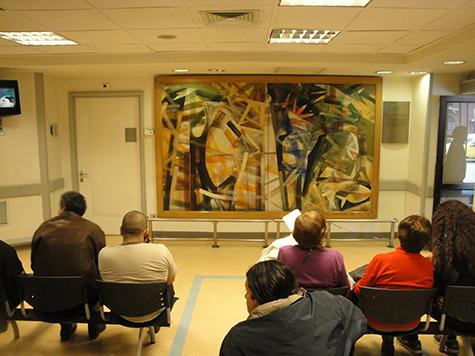 El Hospital del trabajador un verdadero Museo de Arte contemporáneo