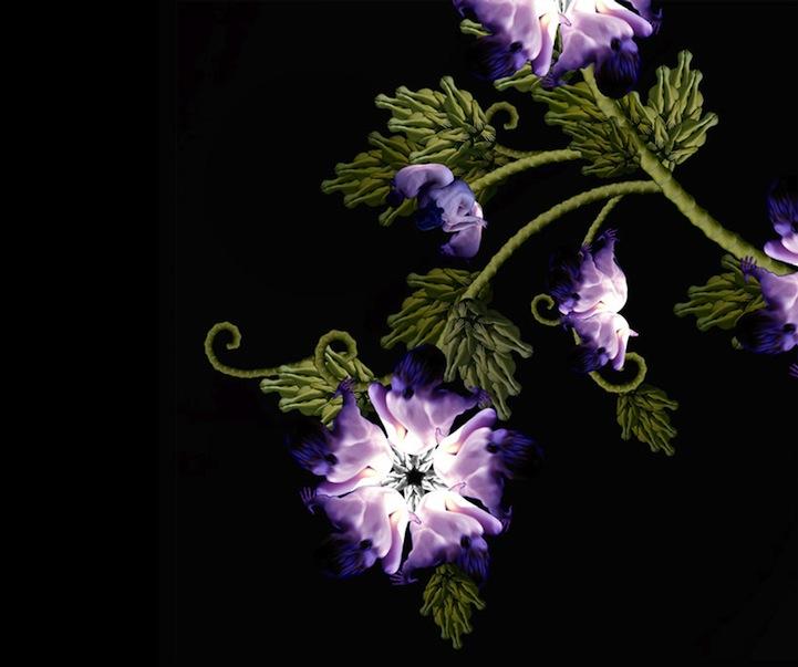 Imágenes de Cecilia Webber, donde se une nuestra anatomía con la naturaleza.