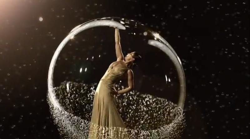El flamenco y el ballet se fusionan entre mágicas burbujas