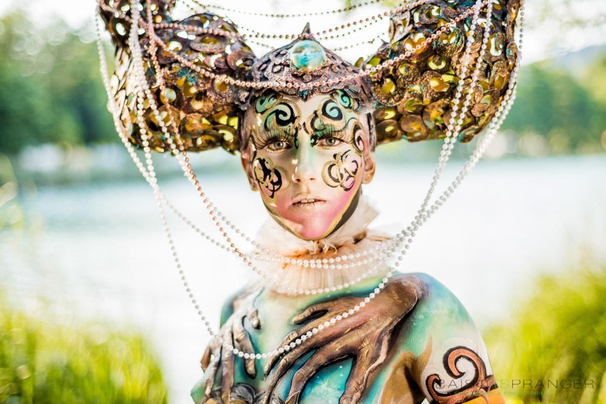 Festival Mundial de Cuerpos Pintados se celebra en Austria