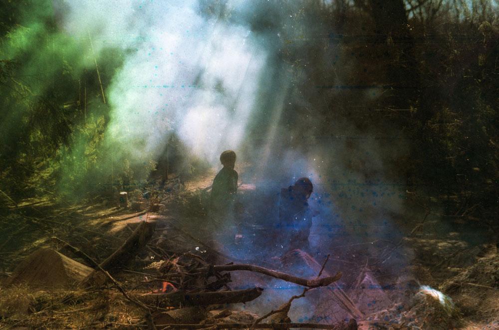 Impresionantes y bellas fotografías análogas de Polina Washington