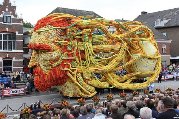 Festival de las Flores en Holanda dedicado a Van Gogh
