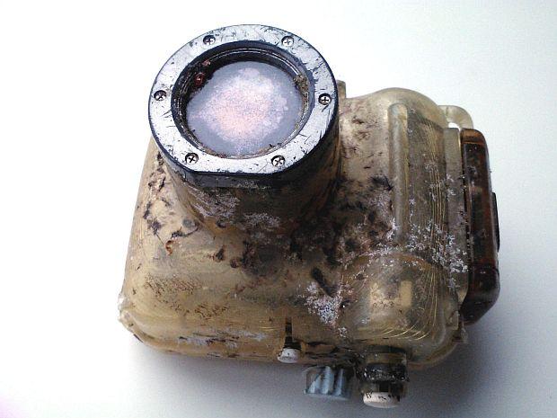 Una cámara submarina perdida en el  2007 se encontró el 2013 y las fotos estaban intactas
