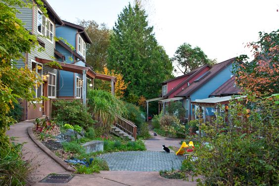 Cohousing:viviendas colaborativas para crecer y envejecer entre amigos