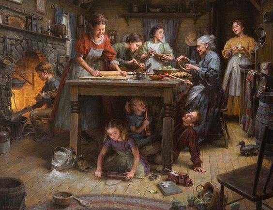 ¿Sabías que las familias que comen y cocinan juntas son más felices que el promedio?
