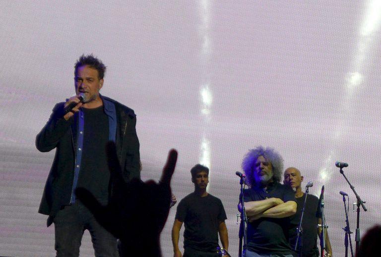 Un registro de lo que fue el concierto de Los Fabulosos Cadillacs en Chile