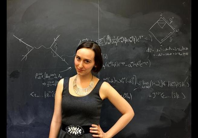 La nueva Einstein tiene 23 años y se llama Sabrina González