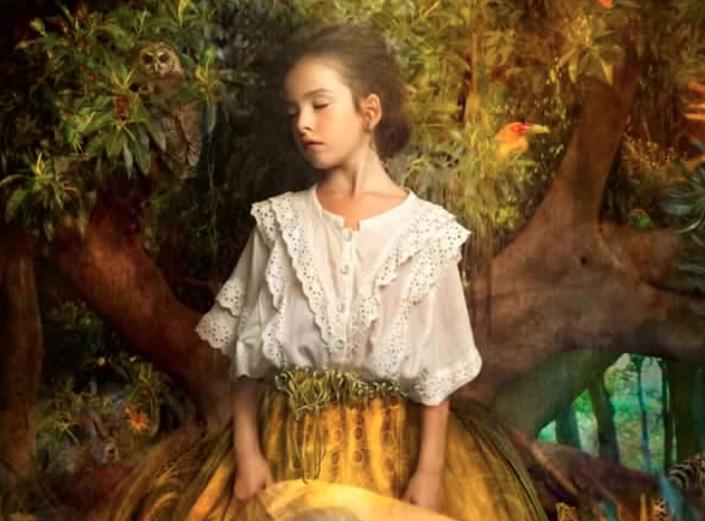 Cooper & Gorfer fotógrafas que crean imágenes con collage inspiradas en pinturas