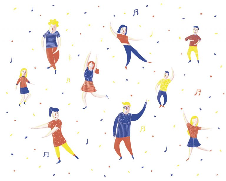Bailar en Santiago