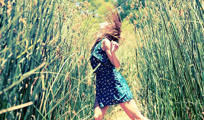 La Bailarina en la Ribera por Sophie Starzenski