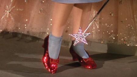 Recuperaron los zapatos de rubí  que Dorothy uso en El Mago de Oz
