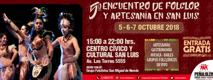 5ª Encuentro de Folclor y artesanía