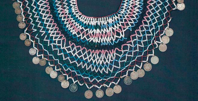 Taller Chaquiras mapuche, en Museo de Arte Precolombino.