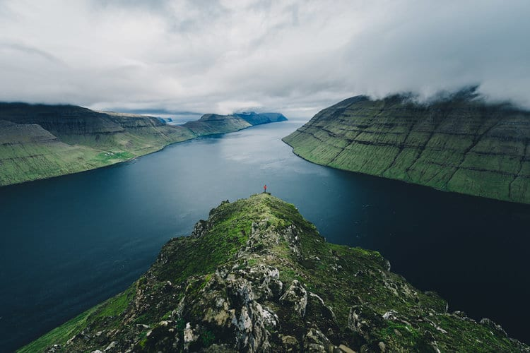 Martin Kafka fotografó que registra las mágicas y tranquilas islas Feroe
