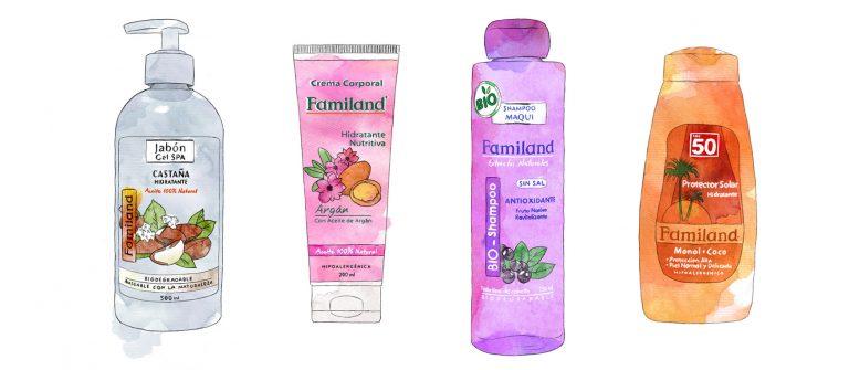 Envases de productos de belleza Reciclable