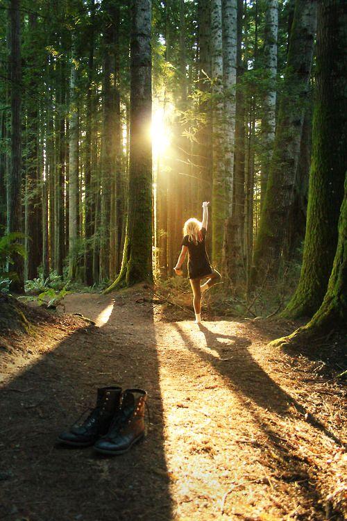 El valor terapéutico del bosque