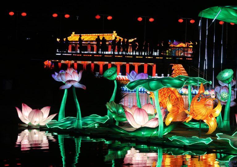 Fesiluz el mágico Festival de luces de China