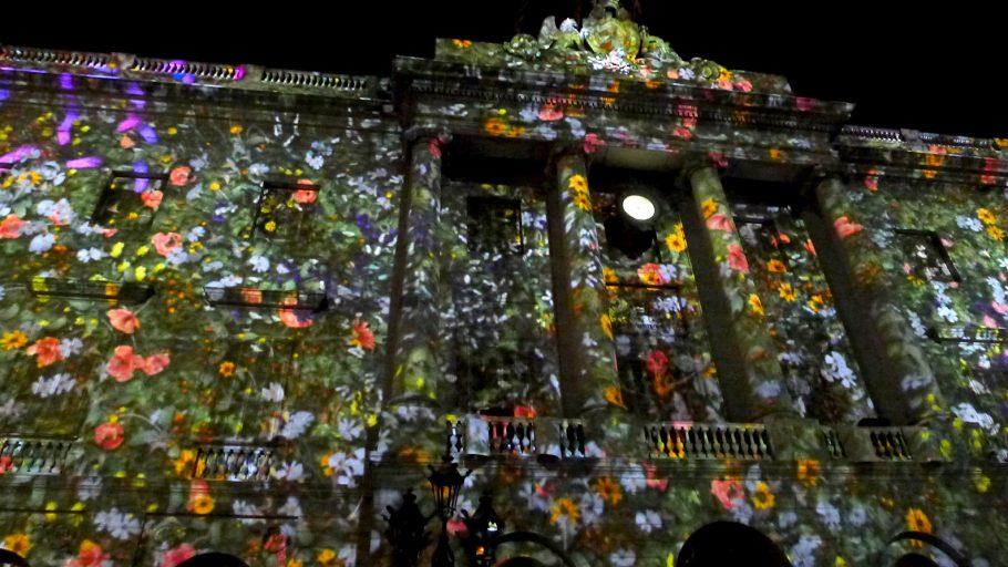 Recordando un increíble mapping en la fiesta de la Merce Barcelona 2011