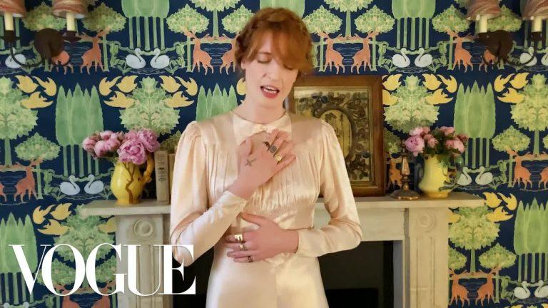 "La actuación de Florence + the Machine en ""A Moment With the Met"" deVogue"